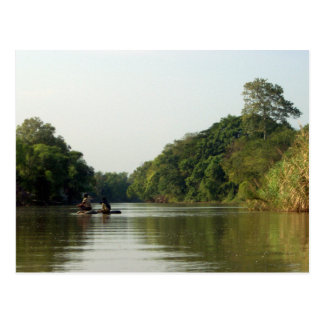 Rafting on the Mae Ping Postcard