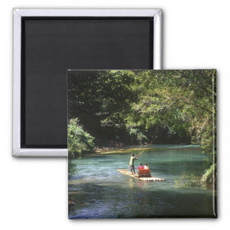 Rafting on the Martha Brae River, Falmouth, Magnets