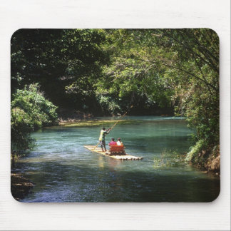 Rafting on the Martha Brae River, Falmouth, Mouse Pad
