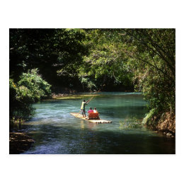 Rafting on the Martha Brae River, Falmouth, Postcard