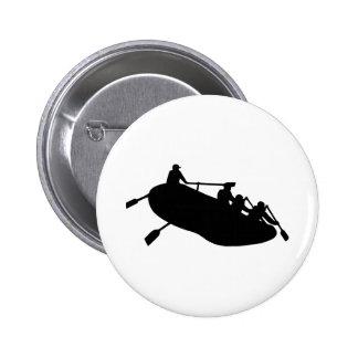 Rafting Pinback Button