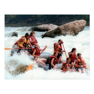 Rafting The Youghiogheny Postcard