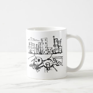 Rag Bunny Coffee Mug