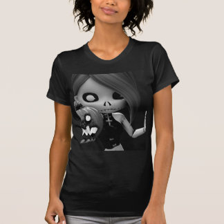 Rag Doll Halloween BW T Shirts