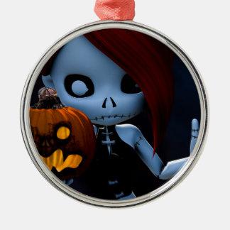 Rag Doll Halloween Ornament