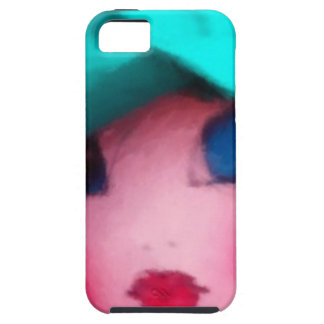 Rag Doll in Teal Bonnet iPhone 5 Cases