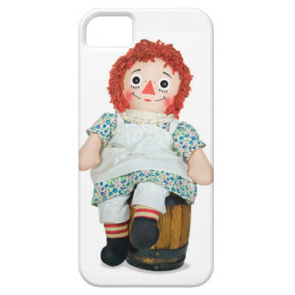 Rag Doll on barrel iPhone 5 Covers
