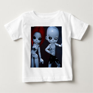 Rag Dolls Couple Baby T-Shirt