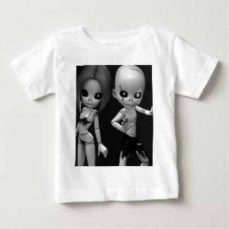 Rag Dolls Couple BW Baby T-Shirt