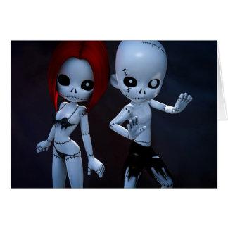 Rag Dolls Couple Card