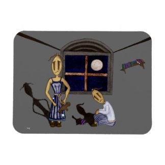 Rag Dolls - Light of the Moon Magnet