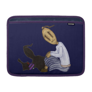 Rag Dolls - The Girl With The Spinning Top MacBook Sleeve