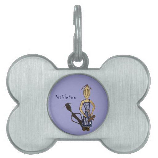 Rag Dolls - The Girl With The Teddy Bear Pet Name Tag