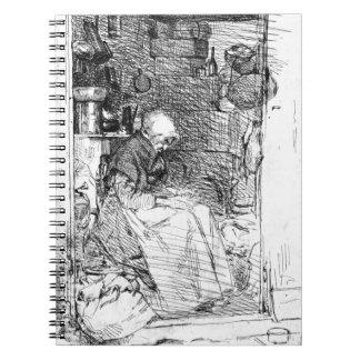 Rag Lady 1858 Notebook