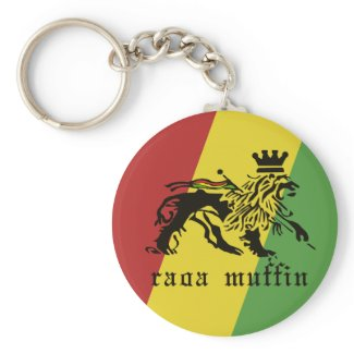 Raga Muffin Judah KeyChain keychain