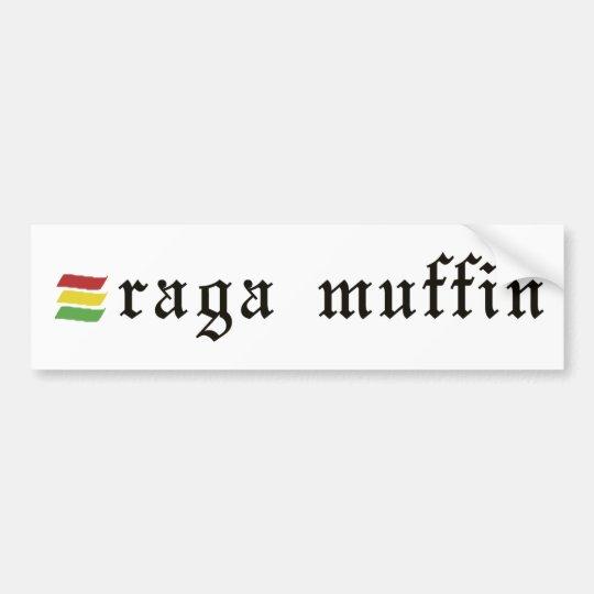 Raga Muffin Sticker