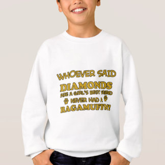 Ragamuffin cat breed designs sweatshirt