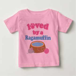 Ragamuffin Cat Breed Loved By A Gift Baby T-Shirt