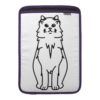 Ragamuffin Cat Cartoon MacBook Air Sleeve