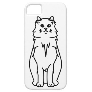 Ragamuffin Cat Cartoon iPhone SE/5/5s Case