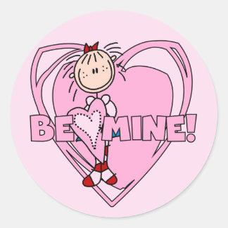 Ragdoll Be Mine Valentine Sticker