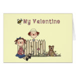 Ragdoll Bee My Valentine tshirts and Gifts Greeting Cards