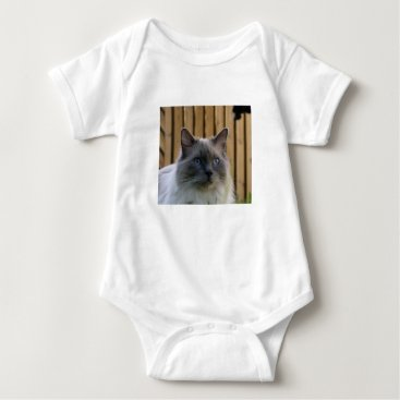 USA Themed Ragdoll,_blue Baby Bodysuit