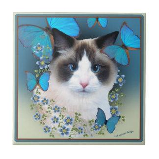 Ragdoll Blue Eyes Tiles