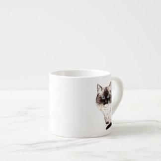 Ragdoll Caricature Espresso Cup