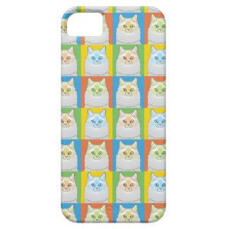 Ragdoll Cartoon Cat Pop-Art (Flame-Point) iPhone SE/5/5s Case