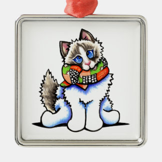 Ragdoll Cat All Dolled Up Christmas Tree Ornaments