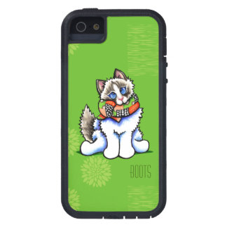 Ragdoll Cat All Dolled Up Personalized Case For iPhone SE/5/5s