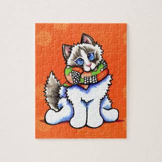 Ragdoll Cat All Dolled Up Puzzle