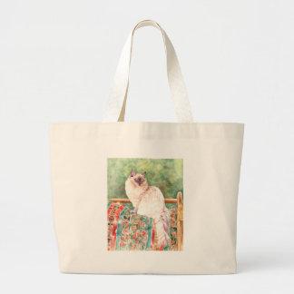 """""""Ragdoll"""" cat Tote Bag"""
