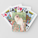 """""""Ragdoll"""" cat Bicycle Playing Cards"""