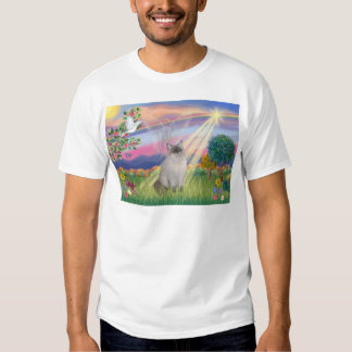 Ragdoll Cat (Blue Point) - Cloud Angel T Shirt