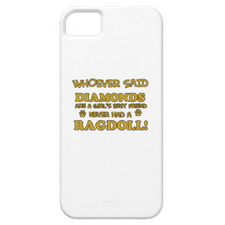 Ragdoll cat breed designs iPhone SE/5/5s case