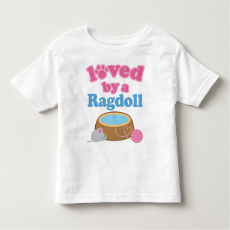 Ragdoll Cat Breed Loved By A Gift Toddler T-shirt