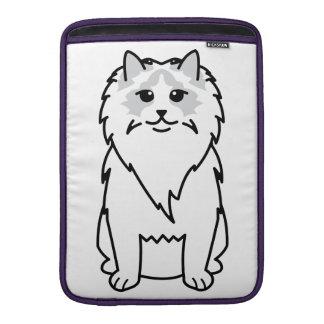Ragdoll Cat Cartoon MacBook Sleeve