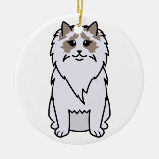 Ragdoll Cat Cartoon Ornaments