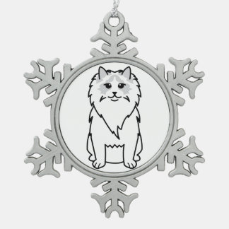 Ragdoll Cat Cartoon Ornament