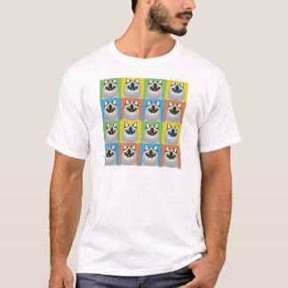 Ragdoll Cat Cartoon Pop-Art (Seal-Point) T-Shirt
