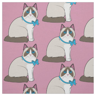 Ragdoll Cat Fabric