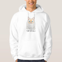 Ragdoll Cat (Flame-Point) Personalized Hoodie