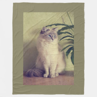 Ragdoll Cat Fleece Blanket