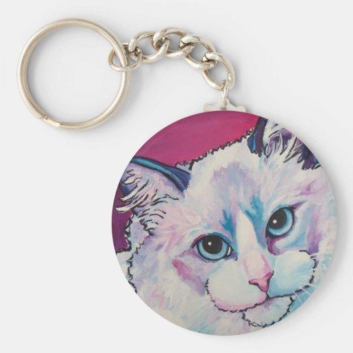 Ragdoll Cat Key Chains