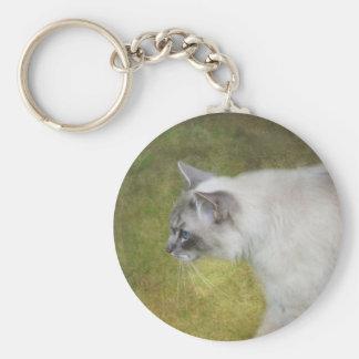 Ragdoll Cat Keyring Key Chain