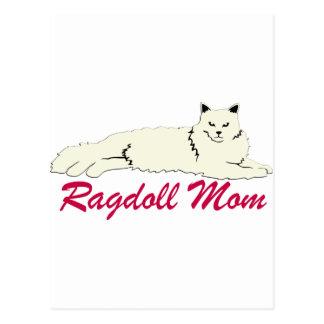Ragdoll Cat Mom Postcards