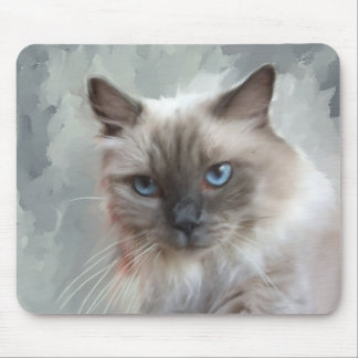 Ragdoll Cat Mouse Pad