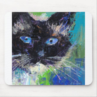 Ragdoll cat painting mouse pad